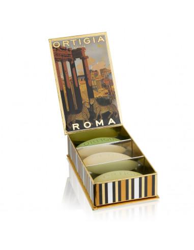 Ortigia Scatola Saponi assortiti Roma...